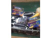 Two batteries & Gear oil