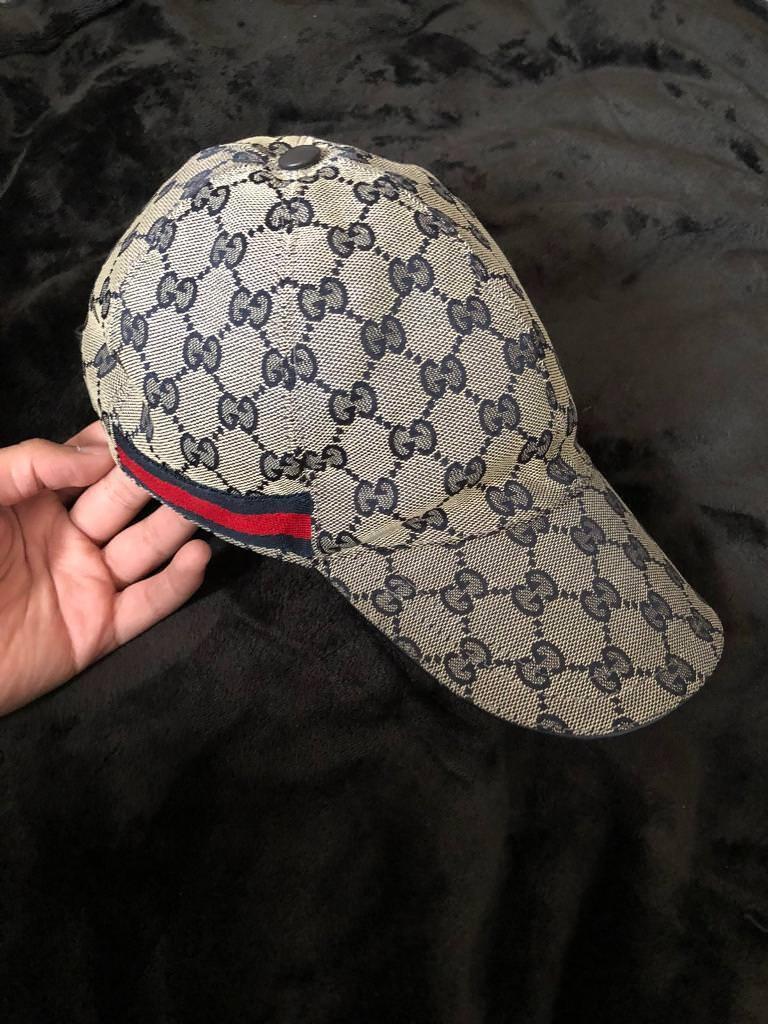 e0b89b27 Gucci cap blue beige 100% genuine | in Ward End, West Midlands | Gumtree