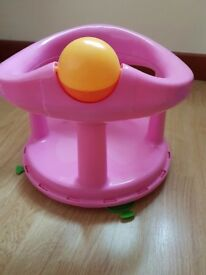 baby gym and bath seat