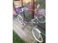 Chopper bike hirls