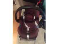 cybex mumma and pappas baby car seat