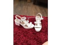 Matalan Brand New Beach Low Block Heel - Size 6!