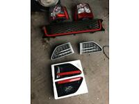 Range Rover Front grill and brake light