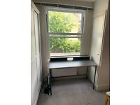 Wooden black desk, from Habitat (Perfect condition)