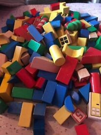 box of solid bricks