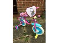 Girls my first trike bike hardly used lovely con