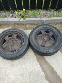 "16"" vauxhall wheels and tyres"