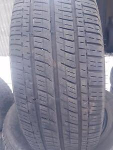 4 PNEUS ETE - BRIDGESTONE 225 65 17 - 4 SUMMER TIRES