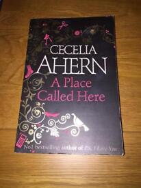 Cecelia Ahern A Place Called Here paperback book