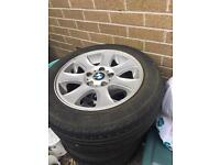 Bmw 116i alloy wheels 16""