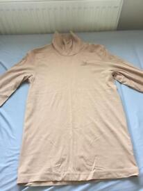 Men's puma beige roll neck