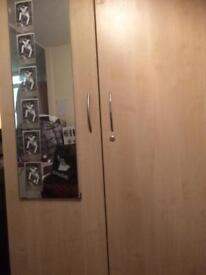 Moving - large cupboard with shelves for sale 8x4'