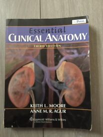 Essential Clinical Anatomy by Anne M. R. Agur, Keith L. Moore (Paperback, 2006)