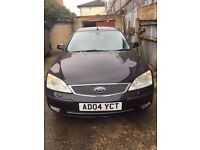 *********FORD MODEO GHIA X SALOON BLACK WITH SERVICE HISTORY LOAD OF BILL FULL LEATHER INTERIORS***