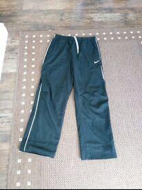 Nike Fit Dry Mens Training Pants Bottoms Black Size M