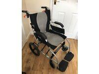"Karma Ergo Lite 2 Wheelchair 18"" Ultra Lightweight"