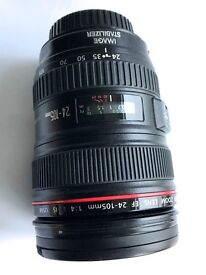 Canon EF 24-105mm F4 lens
