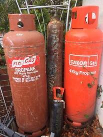 Large Gas Bottle
