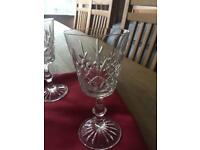 Edinburgh crystal glasses