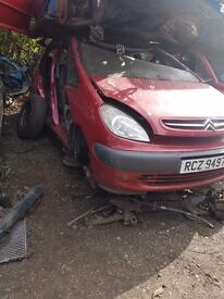 2003 CITROEN PICASSO 1.6 PETROL BREAKING FOR PARTS