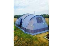 Gelert Horizon 8 Person Tent (Blue) with footprint