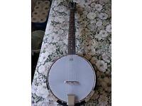 Martin Smith 6-String Banjo (Almost New!)