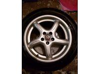 16 inch alloy wheels came off mk4 golf