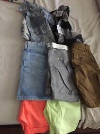 Boys shorts and shirts