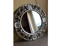 A luxury silver mirror very good condition