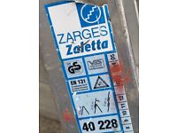 Zarges zaletta 3way ladders 2.5 - 5.8 mtrs £25