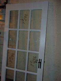 Solid Wood Internal Glazed Door