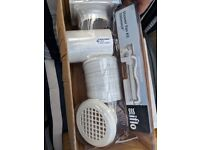 "Iflo Shower Fan Kit 100mm/4"" Timer model (2 available)"