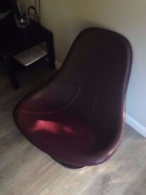 IKEA LEATHER TIRUP SWIVEL CHAIR - Very Good Condition!!!