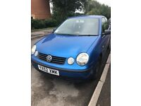 Car for sale - Volkswagen polo for spares or repairs