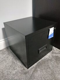 Pierre Henry Maxi desktop single drawer A4 filing cabinet - Black