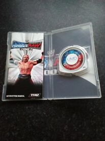 PSP Smack down vs Raw 2007 game