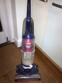 upright bagless hoover or vacuum cleaner in excellent condition