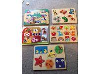Wooden puzzle bundle