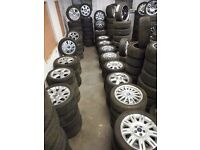 ALLOY WHEELS AUDI BMW CITROEN HONDA FORD VW VAUXHALL MERCEDES REF 6