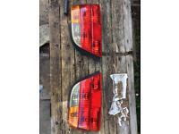 BMW 7 series rear lights housing