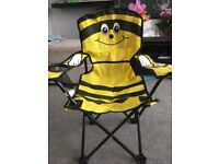 Bumble bee camping chair