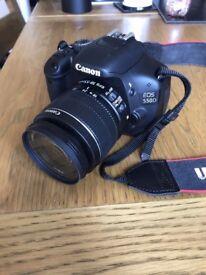 Canon EOS 550D DSLR Camera & 18-55mm Lens