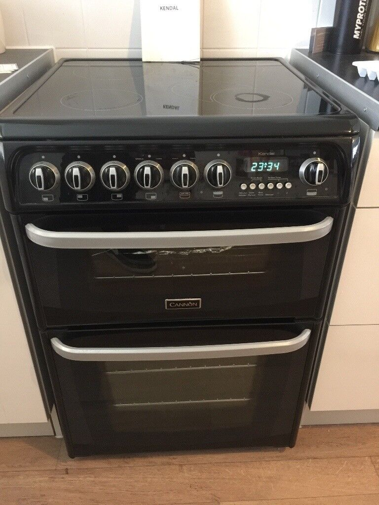 Cannon Kendal double oven electric cooker