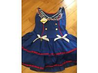 Ann summers dress up sailor costume size 14