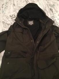 Tu green male waterproof Jacket. Size M. Great condition