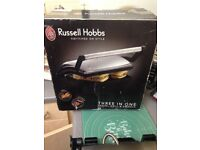 Russell Hobbs 3 in 1 panini grill and griddle
