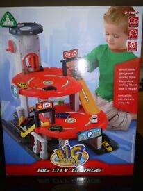 """Boxed Original """"Early Learning Centre"""" (ELC) Red - Big City Garage"""