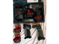 Bosch 12v Heavy duty drill driver bundle