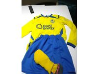FC Bath football kit for 140-152 height 11-12 yrs