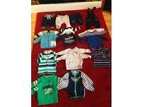 0-3m boys clothes bundle